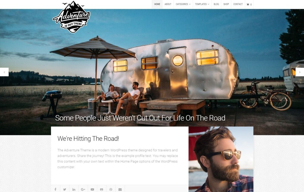 Adventure Multi Author and Personal Blog Theme