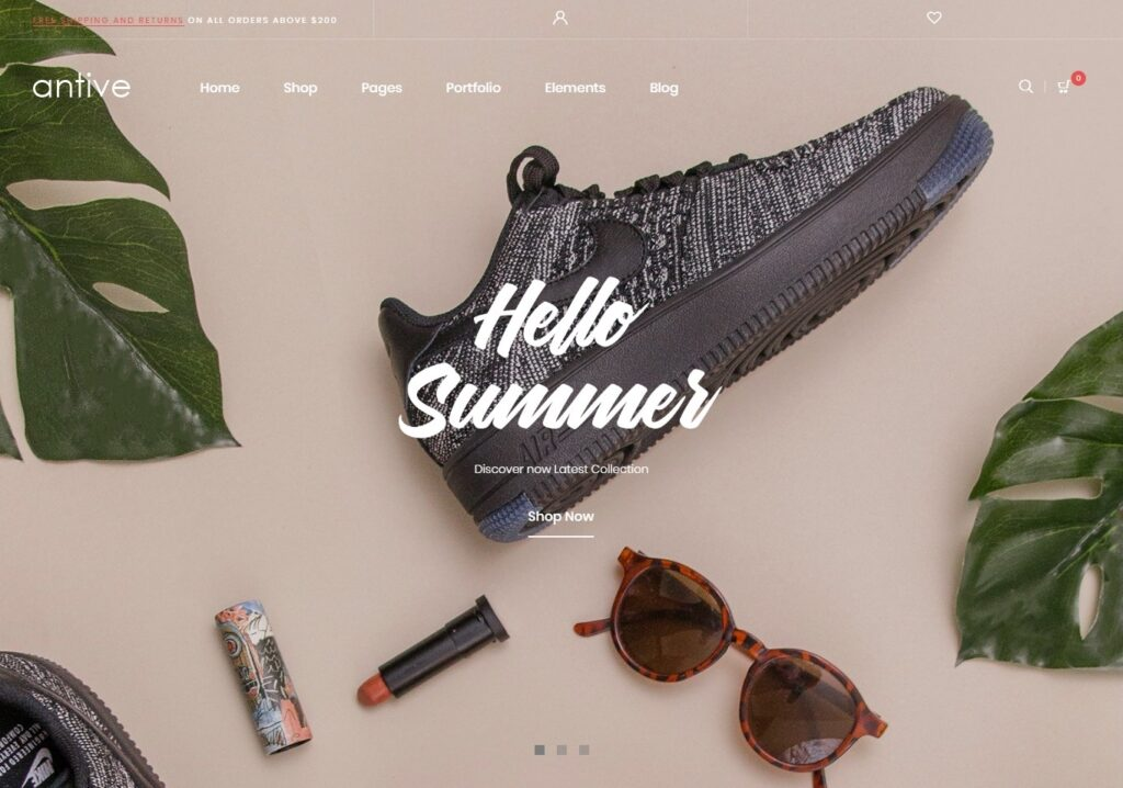 Antive Lookbook WordPress Theme for Fashionable Websites
