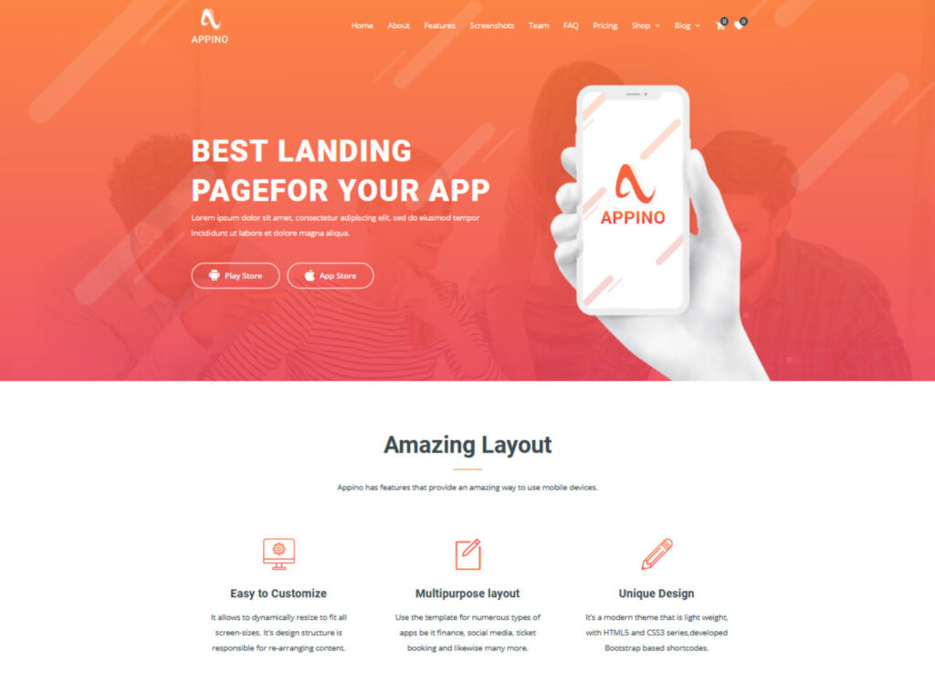 Appino, Creative SaaS Squeeze Page