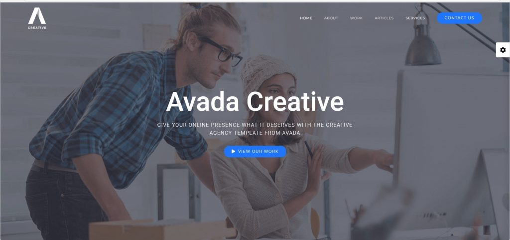 Avada Creative Company Theme For WordPress