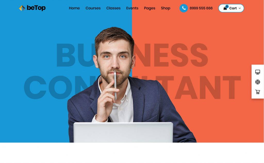 BeTop WordPress Public Speaking and Business Consuling Theme