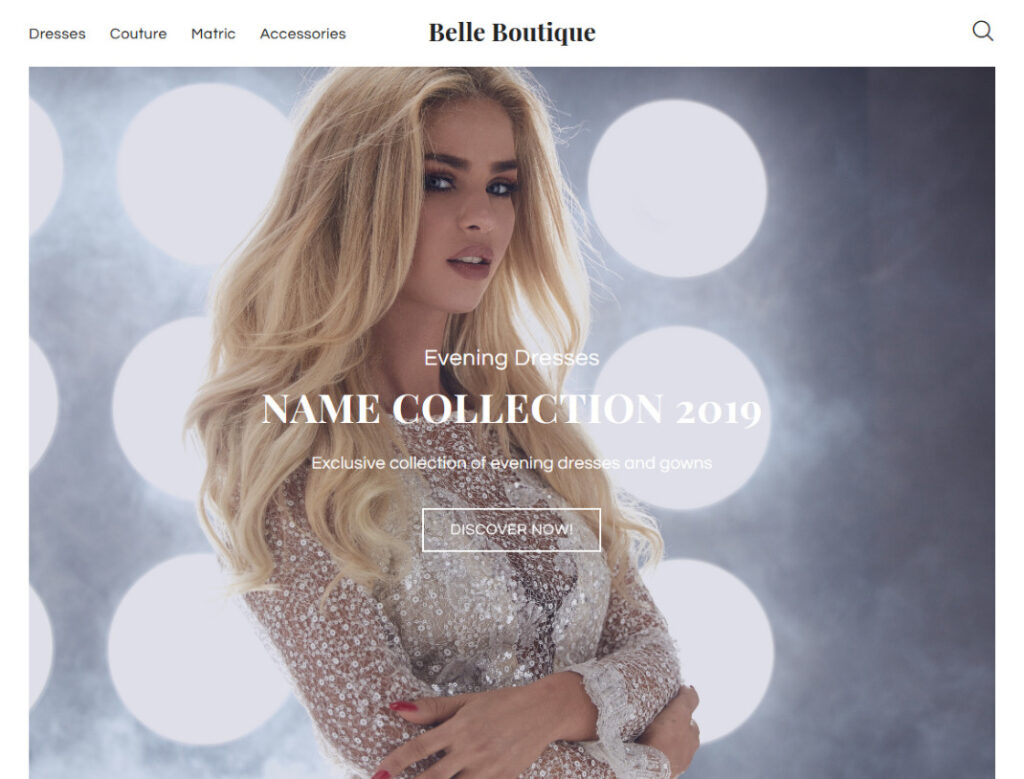 Belle Boutique Elementor WordPress WooCommerce Theme