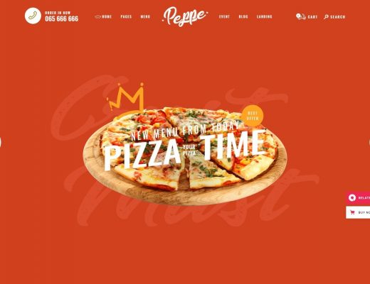 Fast Food Restaurant WordPress Themes