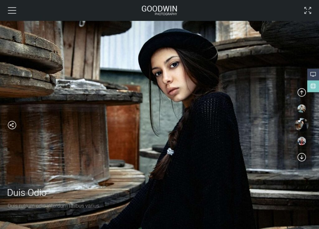 Goodwin WordPress Video Blog and Portfolio Theme