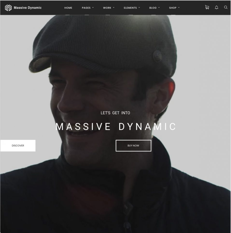 Massive Dynamic WordPress Agency Theme