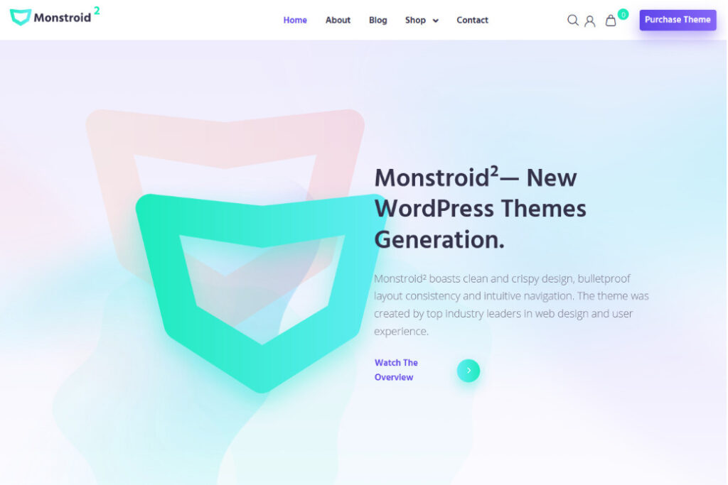Monstroid Flat Multipurpose WP Theme