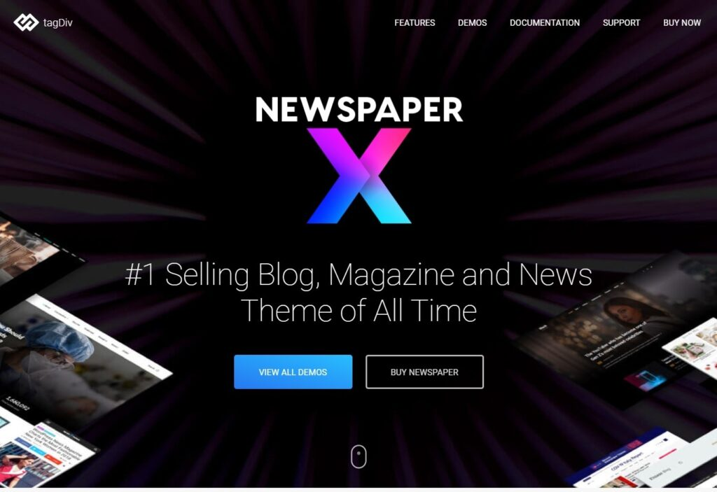 Newspaper, Popular and Well Respected Magazine Theme