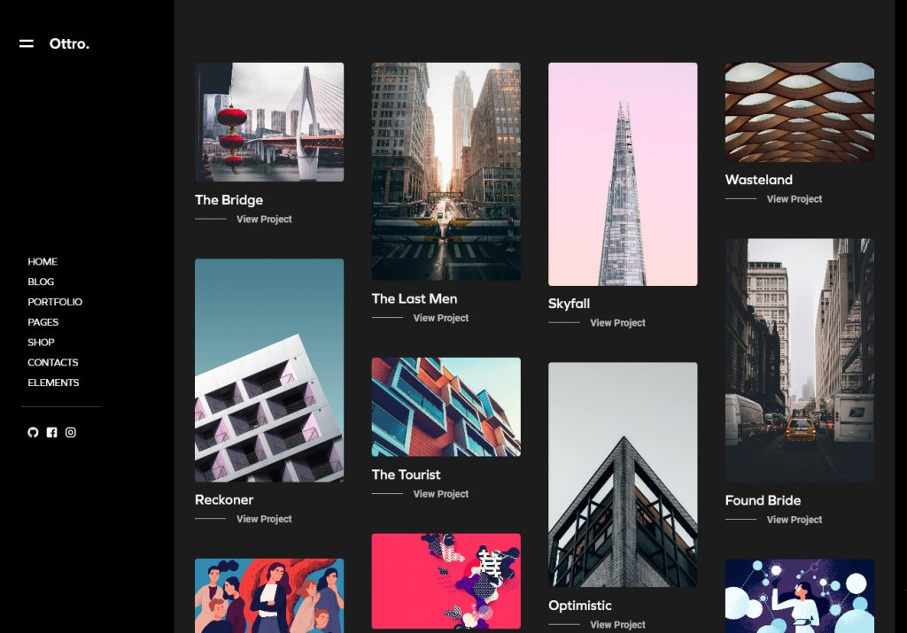 Ottro Portfolio MultiPurpose WordPress