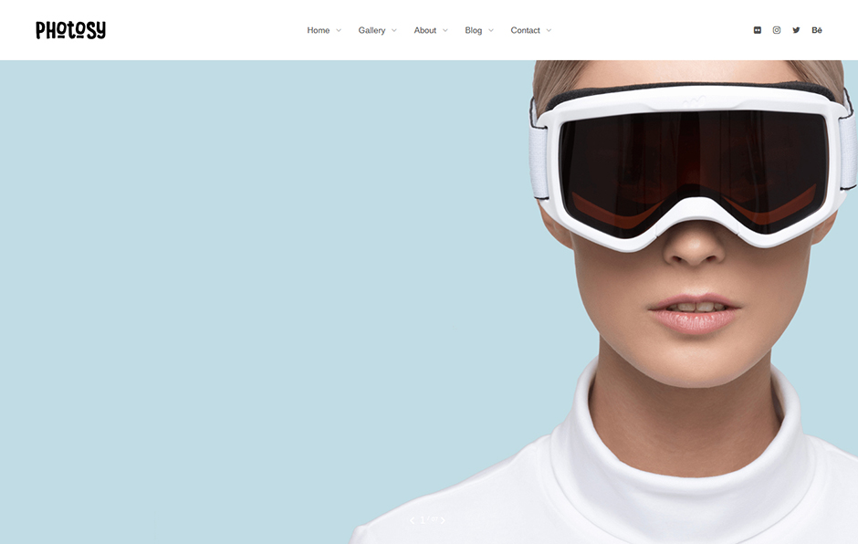 Photosy Photography WordPress Theme
