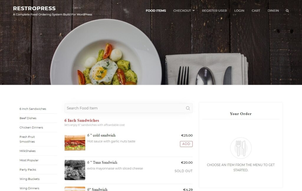 RestroPress Complete Food Ordering System