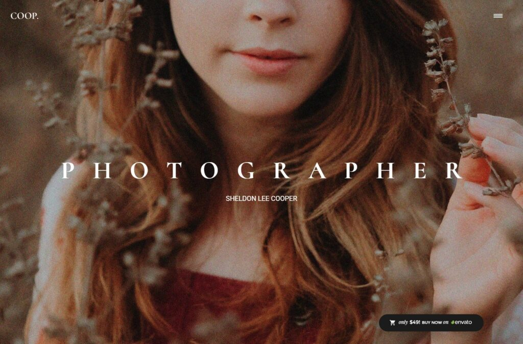 Ronneby Powerful Photography Portfolio WordPress Theme