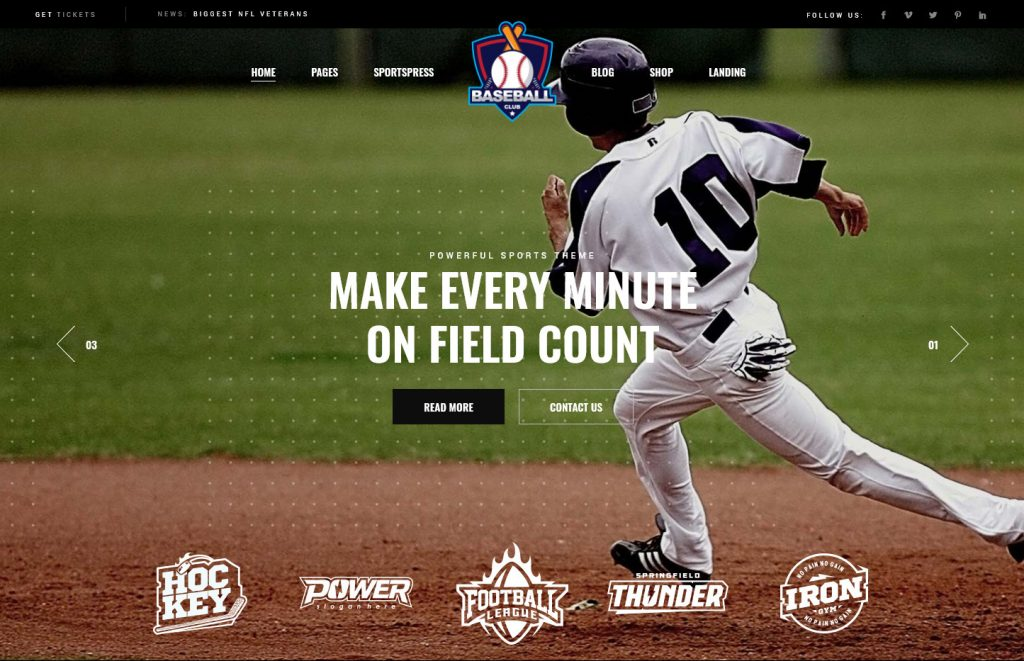 Top Scorer WordPress Sports Theme
