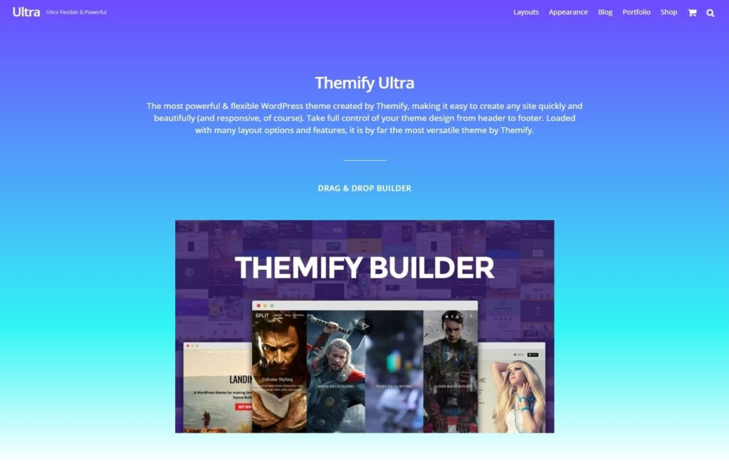 Ultra Flat Themes for WordPress