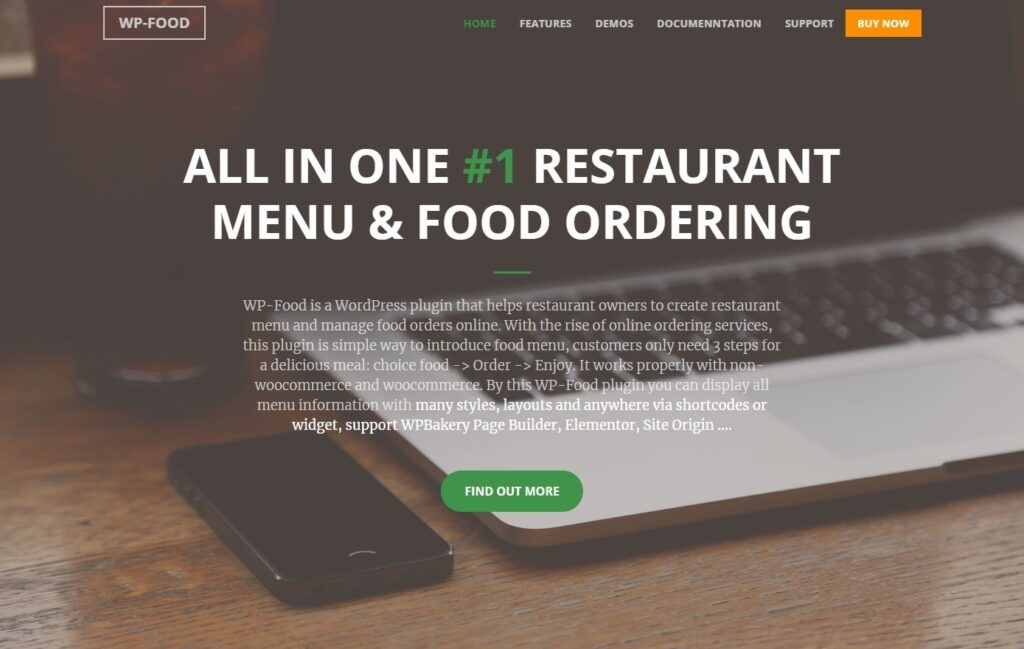 WP Food Restaurant Ordering and Delivery Plugin