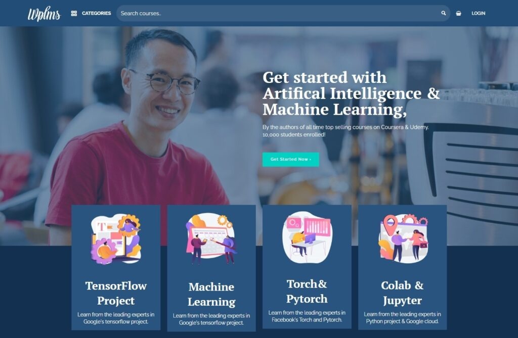 WPLMS LMS Leaning Management Systems WordPress Themes