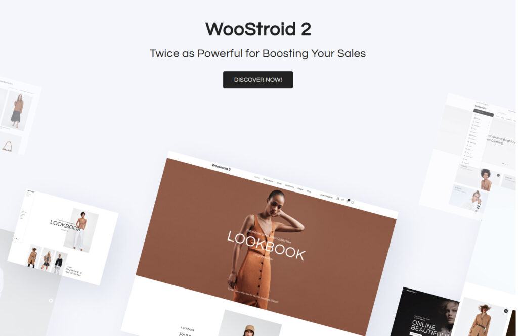 WooStroid WordPress Elementor WooCommerce Theme