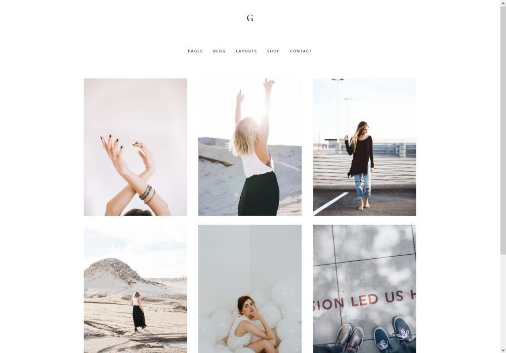 Gallery Pro WordPress Theme for Portfolio and Blogs