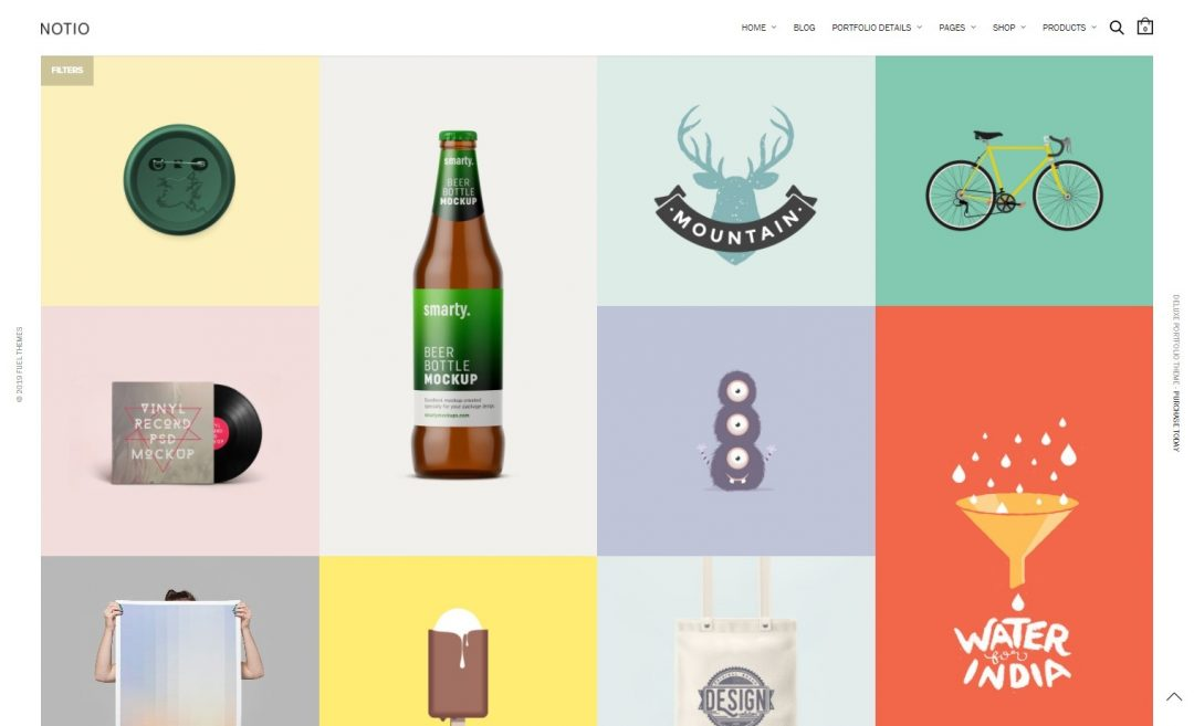 Grid WordPress Themes