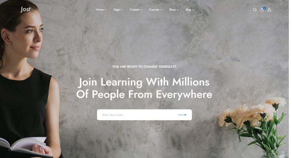 Jost WordPress Education and Online Learning Theme