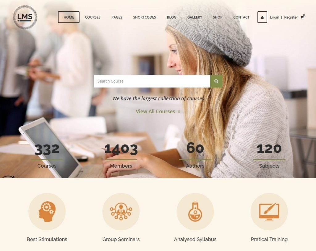 LMS WordPress Learning Management System Theme
