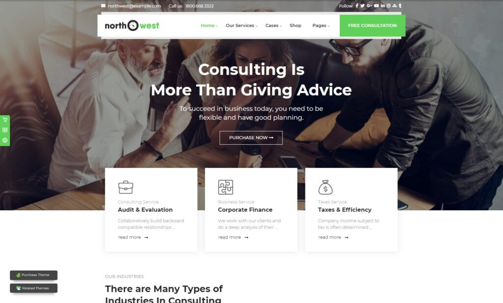 Northwest Consulting and Big Data Analysis Theme