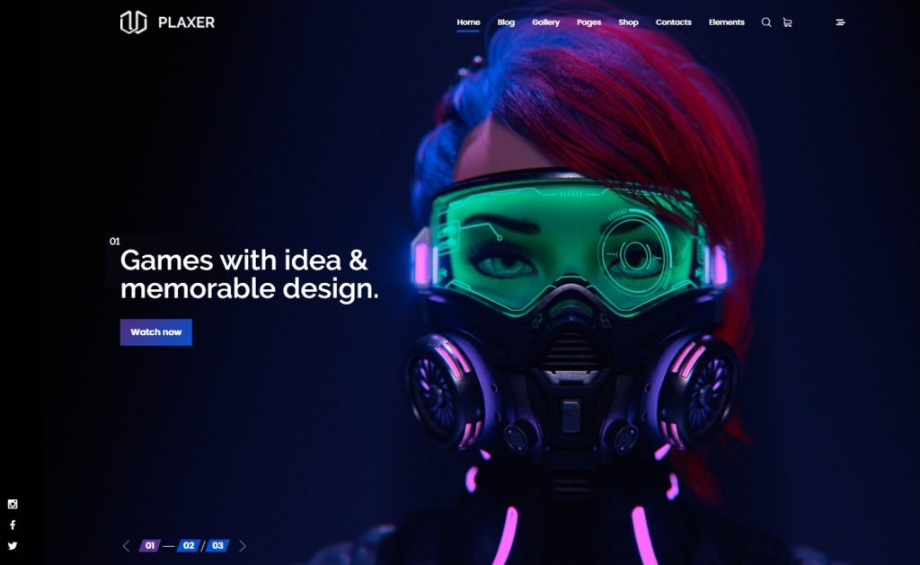 Plaxer - Gaming and eSports WordPress Preview - ThemeForest
