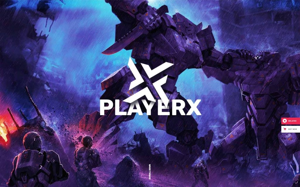 PlayerX - A High-powered Theme for Gaming and eSports Preview - ThemeForest