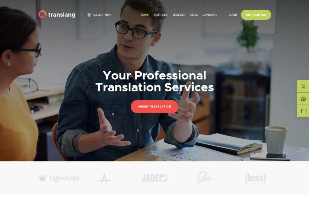 Translang Translation Services Language Courses WordPress Th