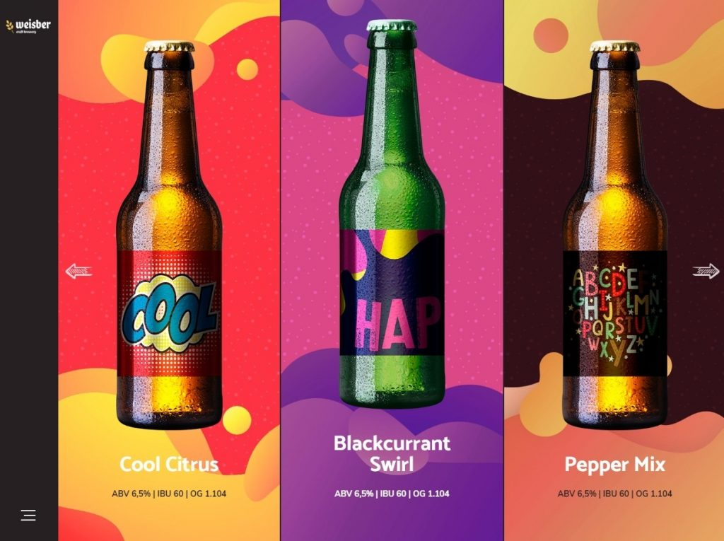 Weisber WordPress Bottle Shop Theme