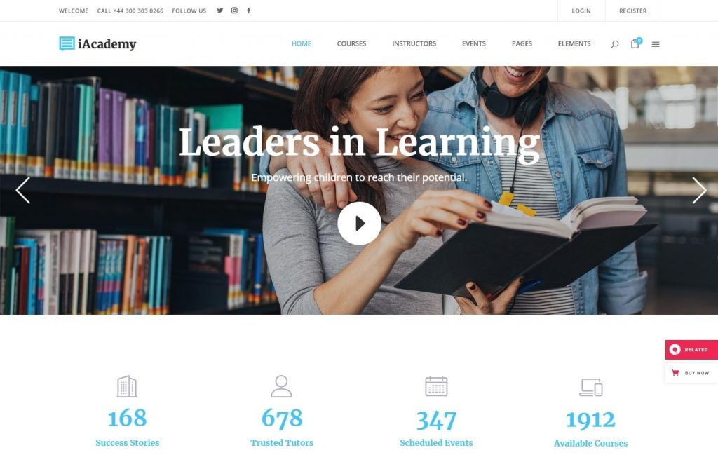 iAcademy a Comprehensive Learning Management System Education