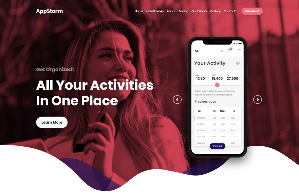 Appstorm Software and App Startup WordPress Theme
