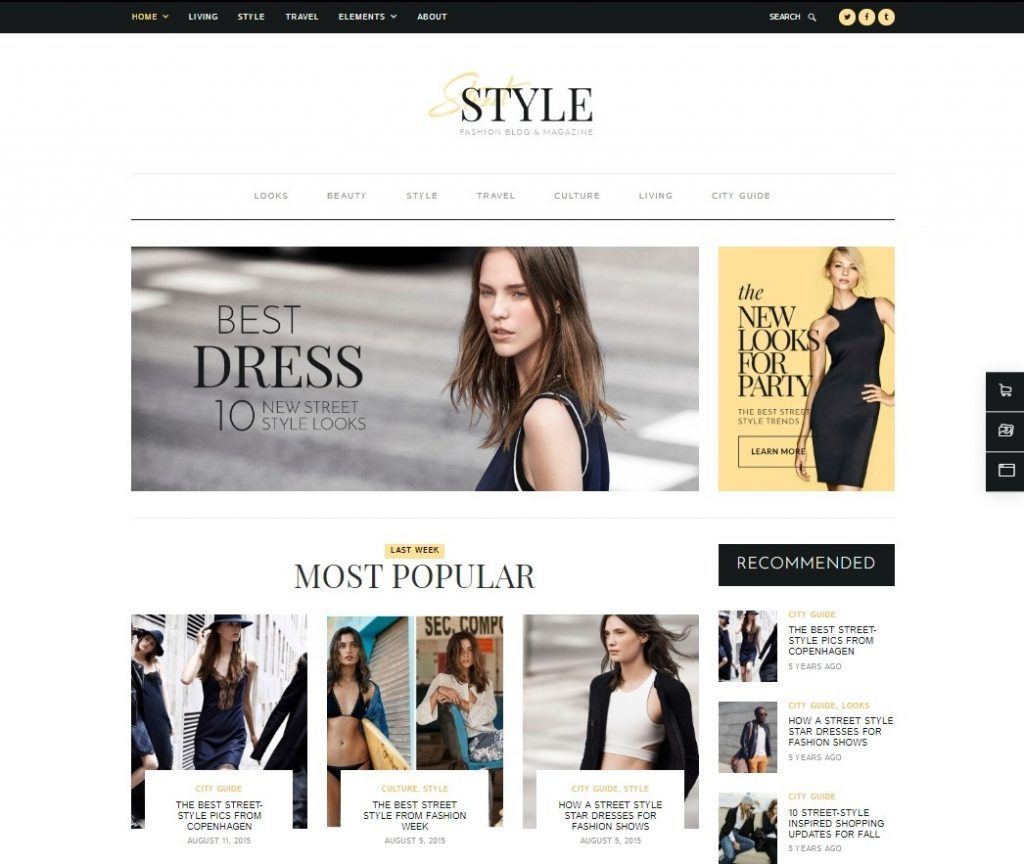 Street Style WordPress Theme for Mom Blogs and Lifestyle Blo